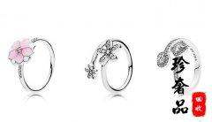 专柜新品PANDORA潘多拉戒指的叠戴魔法