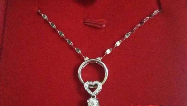 北京二手老凤祥的钻石项链回收价格怎么样?