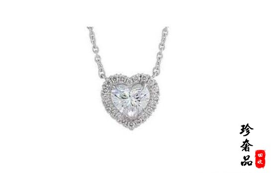 闲置的二手钻石项链回收价格大概能有原价几折?