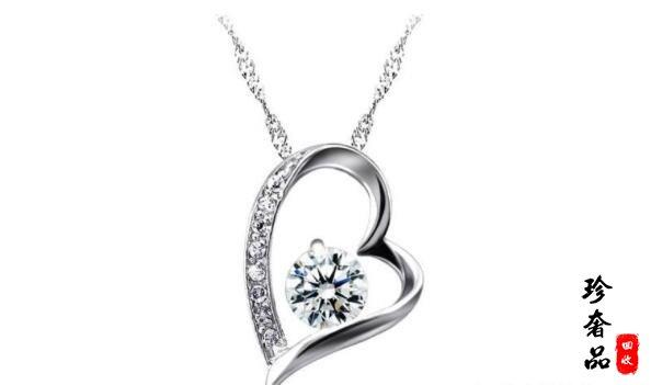 铂金钻石项链回收价格如何?济南几千块钱买的钻石哪里能回收?