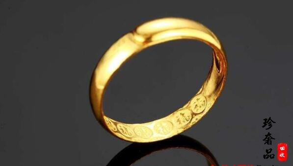 一个金戒指回收大概多少钱?济南二手黄金首饰回收店?