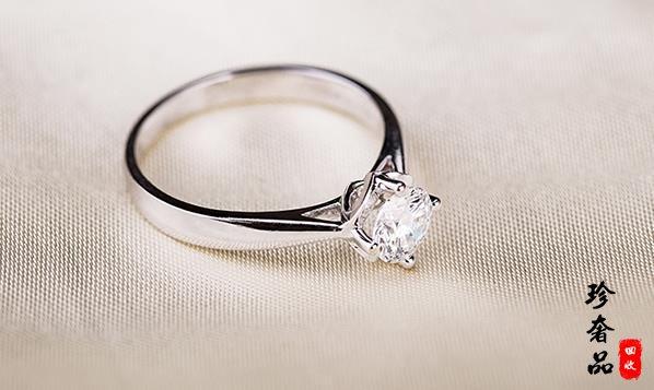 济南一万左右买的铂金钻戒回收价格大概多少钱