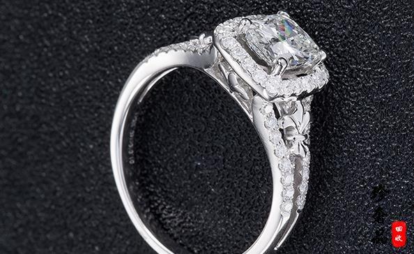 济南四十分的铂金钻戒回收变现能卖多少钱