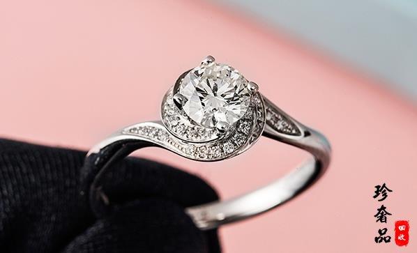 济南二手铂金钻石戒指哪里回收价格高
